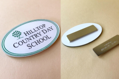Acrylic pin